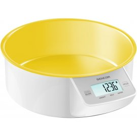 Весы кухонные Sencor SKS 4004 YL