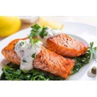 Готовим сочное филе лосося методом Sous vide