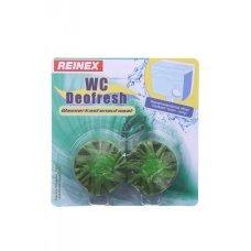 Таблетки для сливного бачка унитаза Лесная свежесть Reinex Wasserkastenautomat grün 2 шт (4068400010636)