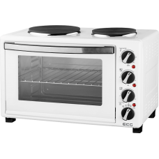 Настольная плита + электропечь ECG ET 3032 White