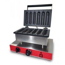 Аппарат КОРН-ДОГ для приготовления вафли на палочке GoodFood CM6A (3+3)