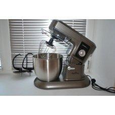 Тестомесильная машина кухонный комбаин First FA-5259. Видео