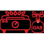 Газовые плиты, горелки и аксессуары