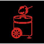 Аппараты для приготовления сладкой ваты
