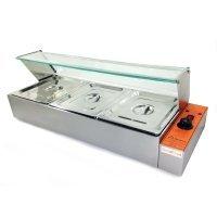 Электрический мармит-витрина GoodFood BM3G