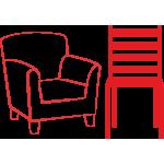 Пластиковые стулья и кресла для сада