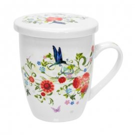 Чашка заварочная Keramia Цветочный сад 21-279-002