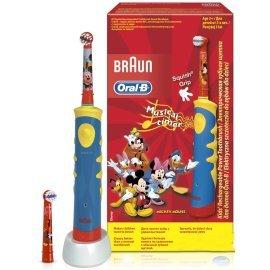 Электрическая зубная щетка детская Oral-B Braun Kids Power Toothbrush/D10 Mickey Mouse