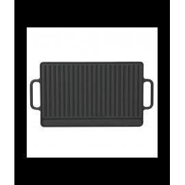 Чугунная сковорода гриль Perfelli 5680 26х42 см.