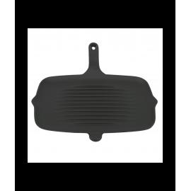 Чугунная плоская сковорода гриль Perfelli 6459 32x22 см.