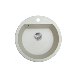 Мойка кухонная гранитная Perfelli SONNO RGS 105-51 LIGHT BEIGE