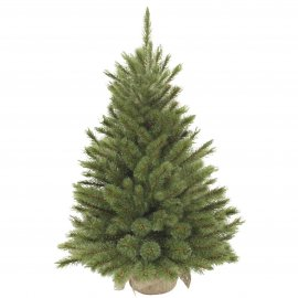 Сосна Forest frosted TriumphTree (Голландия) с инеем, 90 см