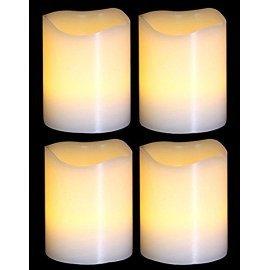 Комплект из 4-х декоративных свечей Luca Lighting (Голландия)