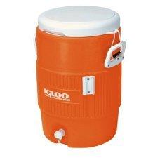 Изотермический контейнер Igloo (США) 5 Gallon Seat Top оранжевый, 18.9 л