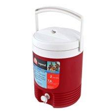 Изотермический контейнер Igloo (США) Legend 2 Gallon красный, 7.6 л