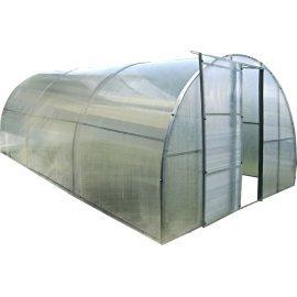 Каркасная теплица Greenhouse под поликарбонат каркасная 6 м