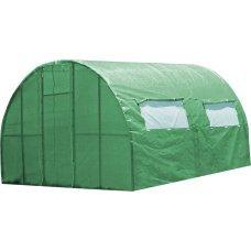 Каркасная теплица Greenhouse под пленку или полиматериал каркасная 4 м
