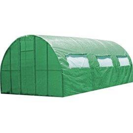 Каркасная теплица Greenhouse под пленку или полиматериал каркасная 6 м