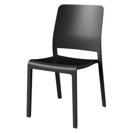 Стул пластиковый Evolutif (Франция) Charlotte Deco Chair серый