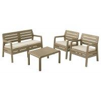 Комплект садовой мебели Allibert (Голландия) Delano Lounge Set