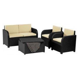 Комплект садовой мебели Allibert (Голландия) Maui Lounge Set (Modena)