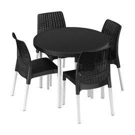 Комплект садовой мебели Keter (Израиль) Jersey set серый