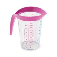 Мерный стакан Snips (Италия) розовый, 1 л
