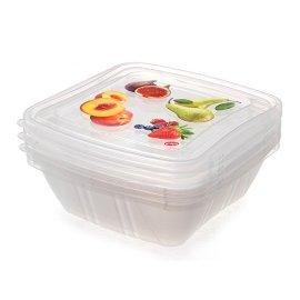 Контейнеры для продуктов Snips (Италия) 3 шт. 0.5 л