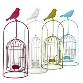 Декор для сада Greenware (Голландия) Подсвечник-клетка для птиц