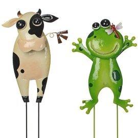 Набор декора для сада Greenware (Голландия) Коровка и Жаба