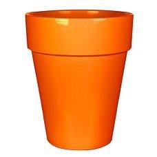Горшок для цветов глина Mica Decorations (Голландия) оранжевый