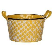 Горшок для цветов House of seasons® (Голландия) Jano желтый, 20.5 см