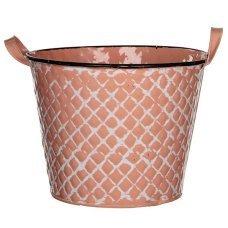 Горшок для цветов House of seasons (Голландия) Jano розовый, 24 см