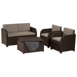 Комплект садовой мебели Allibert (Голландия) Modena set