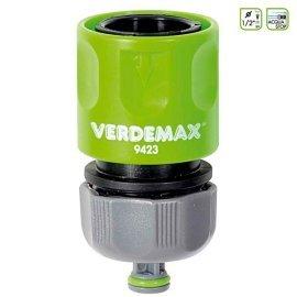 Соединитель для полива Verdemax (Италия) 1/2 с перекрыванием воды