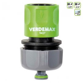 """Соединитель для полива Verdemax (Италия) 5/8""""-3/4"""" с перекрыванием воды"""