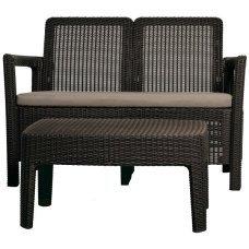 Комплект садовой мебели Allibert (Голландия) Tarifa lounge set