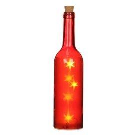 Декоративная бутылка House of Seasons, цвет красный