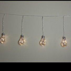 "Гирлянда Luca Lighting (Голландия) ""Лампочки"" теплый-белый, 1.3 м"