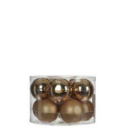 Елочные шарики House of Seasons шампань, комплект 10 шт