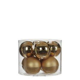 Елочные шарики House of Seasons шампань, комплект 8 шт