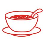 Наборы суповых мисок и тарелок