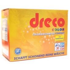 Стиральный порошок для стирки цветного белья концентрированный Dreco 2,025 кг 30 стирок (4000317160196)
