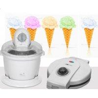 Мороженица 3225 ICM + вафельница HA 3494