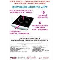Индукционная плита VES V-HP6