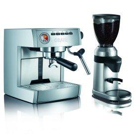 Кофемолка и кофеварка Graef ES 85 + CM 800