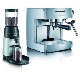 Кофеварка Graef ES 70 + кофемолка CM 70