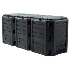 Компостер Prosperplast Module Compogreen 1200 л черный