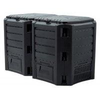 Компостер Prosperplast Module Compogreen 800 л черный