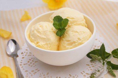 Мороженое из сливок и сгущенки